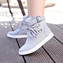 zapatos de mujer de tacón plano zapatillas de deporte de moda los zapatos de lona de confort más colores disponibles