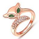 aleaciones de mujeres fte2 todo el anillo de diamantes de imitación partido