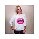 el labio de la moda patrón de suéter de las mujeres southstore 8205