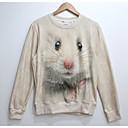 Cranberry Mens Fashion 3D Print Long Sleeve Fleece Tshirt 807