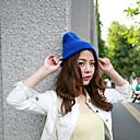 nicole color brillante sombrero de tejidos de punto
