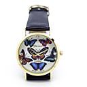 Modelo de mariposa relojes de moda causual de genes