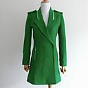 nueva ropa de manga larga chaqueta de tweed de Kyl mujeres