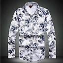 Mens Slim Casual High-Quality Long-Sleeved Shirts