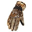 antideslizantes camuflaje moda guantes de esquí de la motocicleta vehículo eléctrico guantes calientes espesados de los hombres al aire libre (color