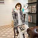 Ceñid coreano coatkorean elegantes de las mujeres alc ciñen abrigo elegante