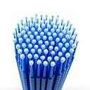 100pcs 0.25mm pestañas reciclable implementa pestañas postizas de limpieza del limpiaparabrisas palo / removedor de maquillaje de párpados