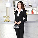 O Lady Womens Office Wear Office Lady Formal Basic Suit (Jacket and Pants)