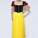 Luxurious Snow White Dress Adult Womens Halloween Costume
