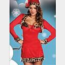de manga larga venus reina delgada moda trajes lindos de la navidad