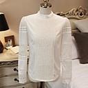 ? ? ™ 2014 mujeres calientes de la venta de ropa nueva de manga larga camiseta de la manera de las mujeres basa la camisa
