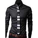 UF Mens Business Black Shirt