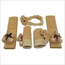 5 en 1 universal, precioso cinturón oso de juguete seguridad del coche  espejo retrovisor  freno de mano  cambio de marcha perilla / cubiertas