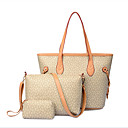 3pcs del bolso de hueso de la moda patrón totalizador del hombro de la mujer gemuni establecen 362