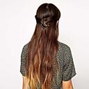 aleación simpe forma de media luna clip de la mandíbula del pelo de las mujeres