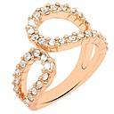 anillos de la aleación de diamantes de imitación de la moda la elegancia magos temperamento regalo
