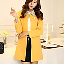 Womens Loose Long Section Coat