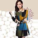 abrigo chaqueta de lino de Shanghai mujeres