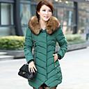 algodón estilo coreano color sólido abrigo tofeel de las mujeres