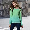 Womens Fashion Round Collar  Sweaters
