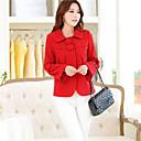 abrigo de lana largo de la ropa de las mujeres de Shanghai