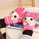 Womens Cartoon Touch Screen Full Finger Warm Gloves
