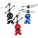 inducción juguetes rc volar helicópteros rc astronauta juguetes robot alienígena de modo dual para los niños