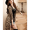 abrigos de leopardo de las mujeres ricci
