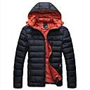 abrigos de invierno de la moda de algodón acolchado de ocio termal de walkmen Manwan, chaqueta de nieve