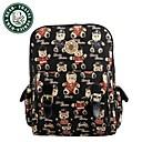 DAKA BEAR Retro Shoulder Bag Fashion Handbags School bag Girls Backpack