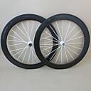 650c udelsa 20.5mm clincher ruedas de carbono carretera de 50 mm de ancho ruedas de la bici f: 20h r: 24h