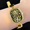 leopardo cadena amarilla corona magníficos de las mujeres
