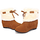 Chaw Womens Winter Fashion Hairball Short Boots 618