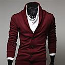 británico v-cuello de la vendimia chaqueta de punto de los hombres Manba