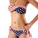 nueva impresión de la bandera de la moda de trajes de baño de alta calidad bikini
