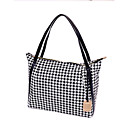 Mandanly Women's Casual All Match Check Bag