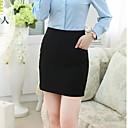 o señora de la oficina desgaste de la oficina formal de la falda básica de la señora de las mujeres