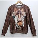 Cranberry Mens Fashion 3D Print Long Sleeve Fleece Tshirt 855