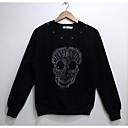 de los hombres de arándano moda 3d de manga larga de impresión de lana camiseta 2002