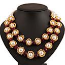 moda vintage collar de gran tamaño de las mujeres mengnixue