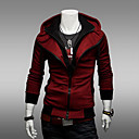 Fanzhuo Men'S 2014 Contrast Color Hoodie Thin Coat 1303.W14