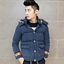 Mens  Solid  Color  Casual  Coats
