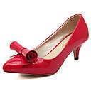 moda elegante zapatos del estilete de las mujeres de hadas rojos
