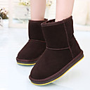 Girls Shoes Round Toe Flat Heel Velvet Boots Shoes More Colors available