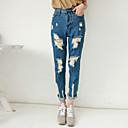 CCstory Women's Casual Solid Color Jeans