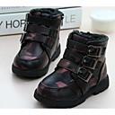 botas de los zapatos de la moda de los muchachos planos botines talón con la cremallera más colores disponibles