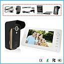 "2.4G 7"" TFT Wireless Video Door Phone Intercom Doorbell Home Security Camera Monitor"