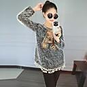 invierno 2014 jersey de leopardo nueva causal de la manera de las mujeres Belon