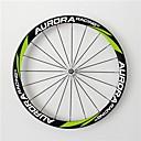 aurora bicicleta de carretera 700c, anchura 25mm ruedas tubulares de carbono bicicleta llena de profundidad 38mm