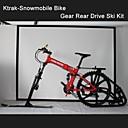 """26 """"pulgadas ktrak-moto de nieve moto de nieve moto de nieve kit de tracción trasera engranajes hm bicicleta ™ de esquí de montaña k-trak kit de esquí"""